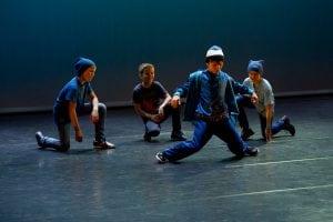 Gutter danser brakedance
