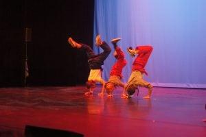 Brakedance balansering