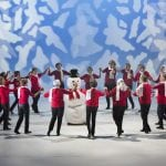 """Dans med Kirsti danser """"Winter Wonderland"""""""