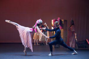 Camilla og Truls danser pas de deux - Froskeprinsen 2018